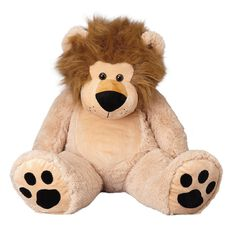 Play Studio Lion Plush Beige 100cm