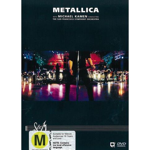 Metallica S & M Limited DVD 2Disc