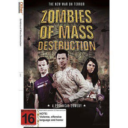 Zombies of Mass Destruction DVD 1Disc