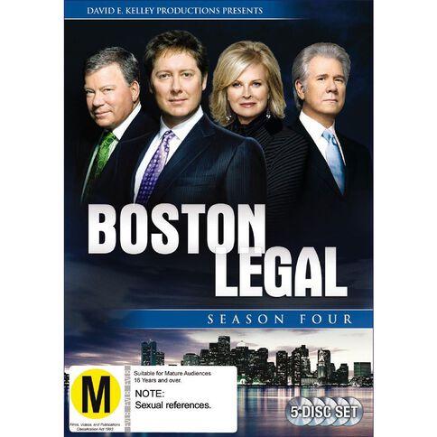 Boston Legal Season 4 DVD 5Disc
