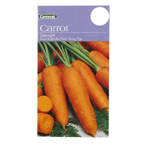 Carnival Seeds Top Weight Carrot Vegetable
