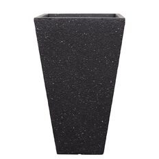 Sandstone Fibre Clay Pot Dark Grey 31.5cm x 31.5cm x 53.5cm