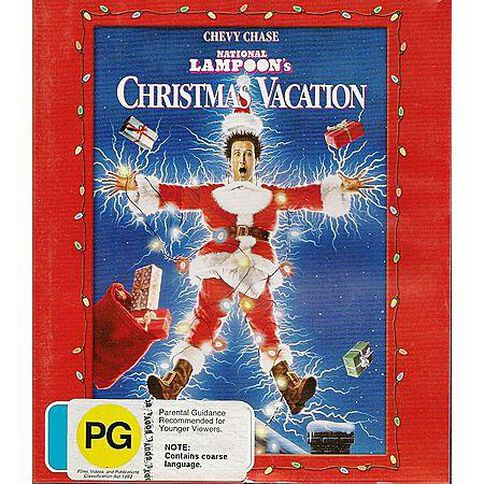 National Lampoons Xmas Vacation Blu-ray