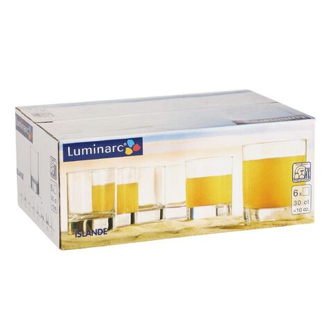 Luminarc Islande Old Fashioned 300ml 6 Pack