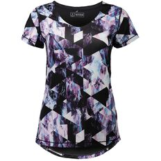 Active Intent Women's All Over Print Jacquard Tee