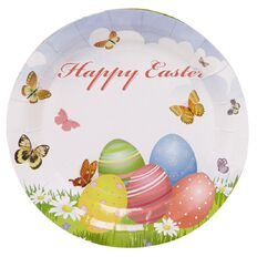 Party Inc Easter Plates 17cm 6 Pack