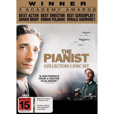 The Pianist DVD 1Disc