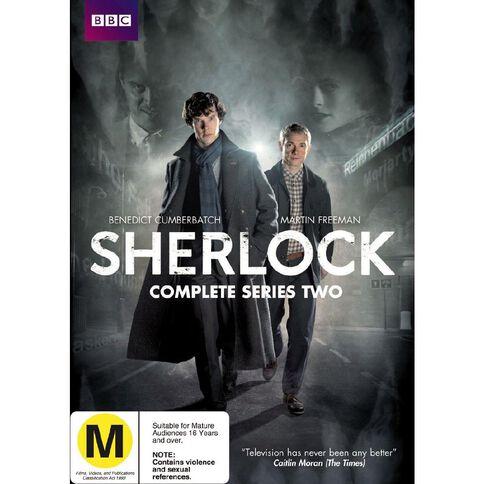 Sherlock Season 2 DVD 2Disc
