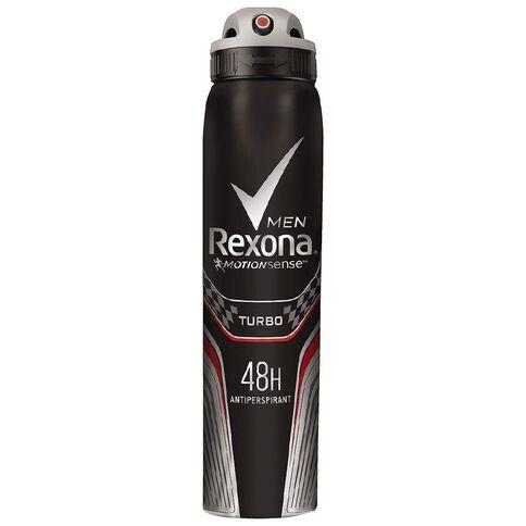 Rexona Men's Antiperspirant Turbo 250ml