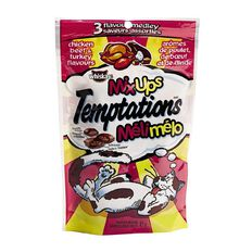 Whiskas Temptations Mixups Chicken Beef & Turkey Flavours 85g