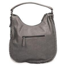 Amber Hill Sorrento Tote Handbag Grey Limited Edition
