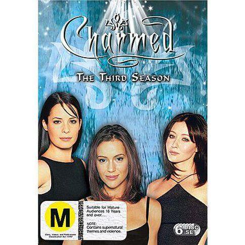 Charmed Season 3 DVD 6Disc