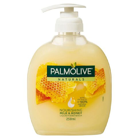 Palmolive Soft Wash Hand Wash Milk and Honey Pump 250ml