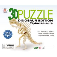 3D Dinosaur Edition Wooden Puzzle