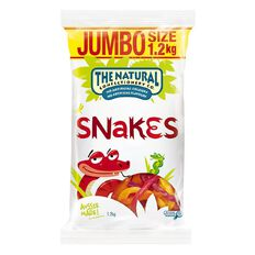 The Natural Confectionery Co. Snakes 1.2kg