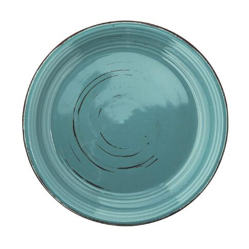 Harrison & Lane Side Plate Glazed Blue