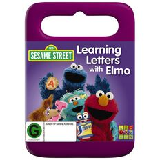 Sesame Street Learning Letters with Elmo DVD 1Disc