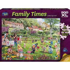 Puzzle Family Times 500 Piece XL Assorted