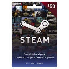 Steam Game Card $50
