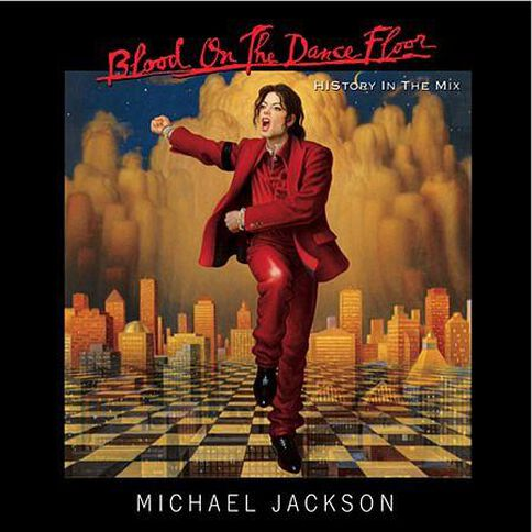 Blood On The Dance Floor CD by Michael Jackson 1Disc