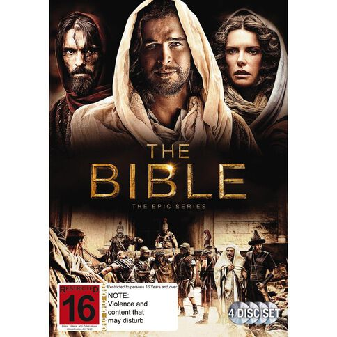 The Bible DVD 1Disc
