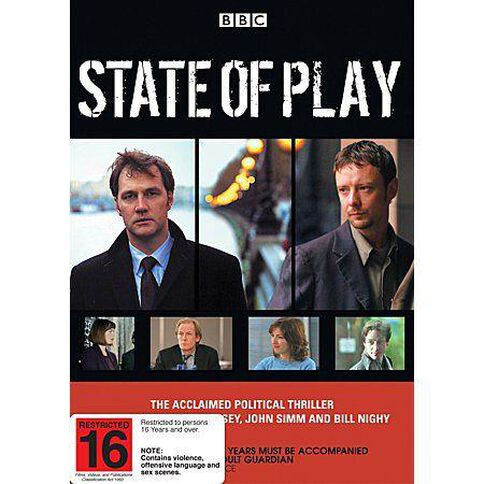 State of Play DVD 2Disc