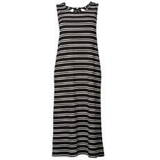 Kate Madison Lace Detail Maxi Dress