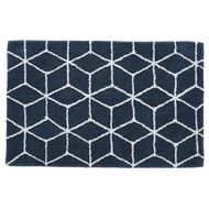 Living & Co Bath Mat Palm Springs Navy 50cm x 75cm