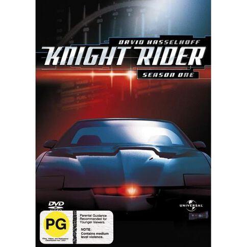 Knight Rider Season 1 DVD 8Discs