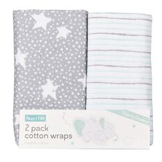 Rocco And Tolly Starry Dreams Interlock Wraps 2 Pack