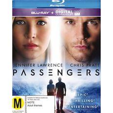 Passengers Blu-ray 1Disc