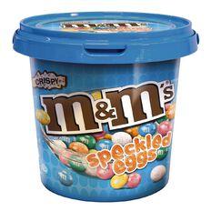 M&M's Crispy Speckled Egg Bucket 600g