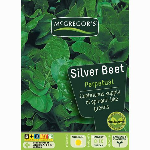 McGregor's Perpetual Silverbeet Vegetable Seeds
