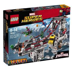 Marvel LEGO Super Heroes Spider Man Web Warriors Ultimate Bridge 76057