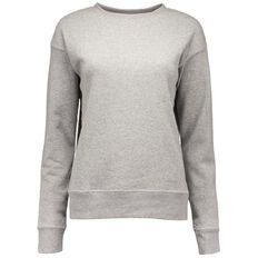 Basics Brand Women's Crew Neck Sweatshirt