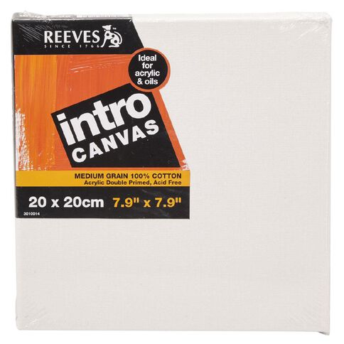 Reeves Intro Canvas 7.9 x 7.9inch