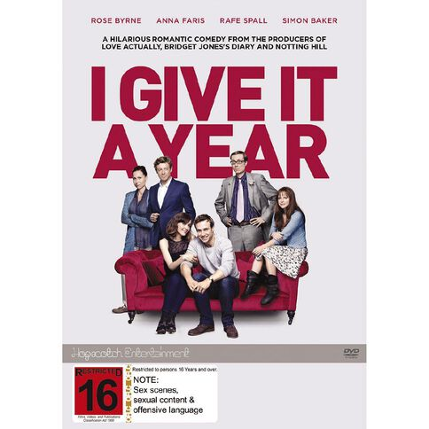 I Give It A Year DVD 1Disc