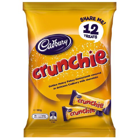 Cadbury Crunchie Treat Size 180g