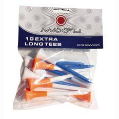 Maxfli Xtra Long Tees 10 Pack