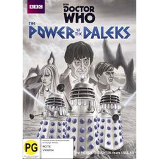 Doctor Who Power of the Daleks DVD 1Disc