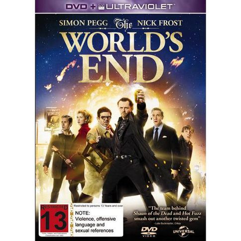 The Worlds End DVD 1Disc