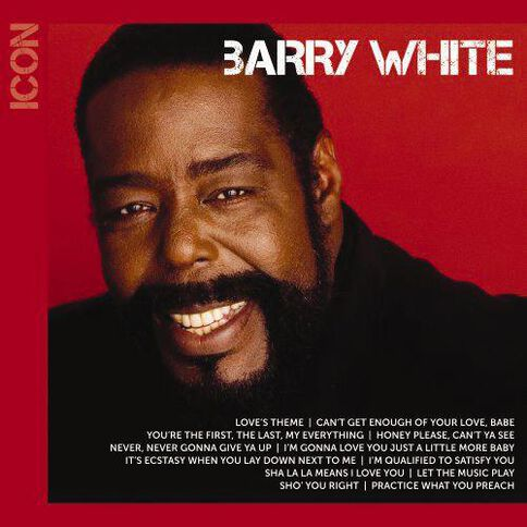 Icon CD by Barry White 1Disc