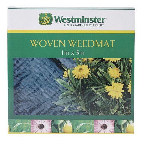 Westminster PE Woven Weedmat 1 x 5m 100gsm