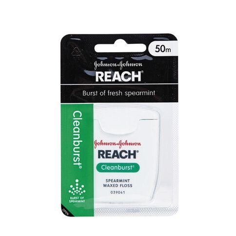 Reach Floss Clean Burst Dental Floss 50m