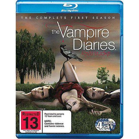 Vampire Diaries Season 1 Blu-ray 4Disc