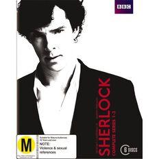 Sherlock Season 1 to Season 3 Boxset Blu-ray 6Disc