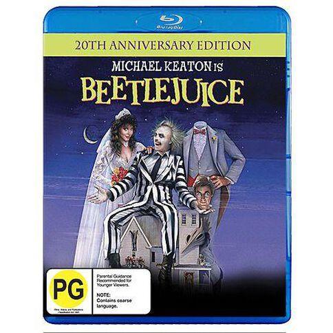 Beetlejuice 20Th Anniversary (Blu-ray)