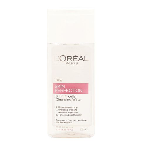 L'Oreal Paris Skin Perfection Micellar Water 200ml