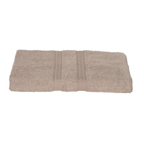 Living & Co Giant Towel Taupe 90cm x 150cm