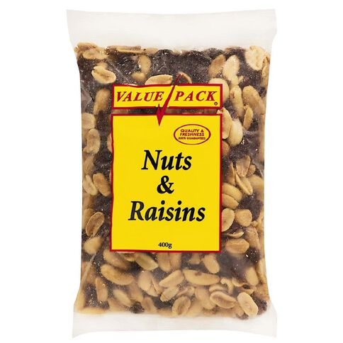Value Pack Nuts And Raisins